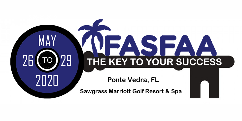 FASFAA 2020 Conference Logo